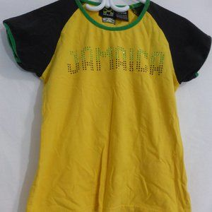 JAMAICA, medium, tee with JAMAICA studded print